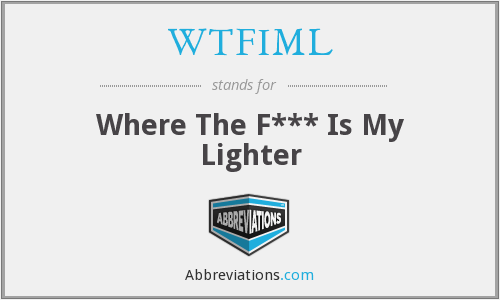 What does WTFIML stand for?