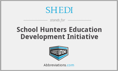 What does SHEDI stand for?