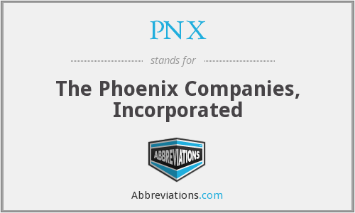 What does PNX stand for?