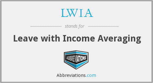 What does LWIA stand for?