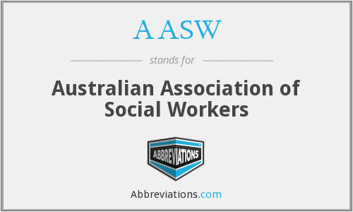 What does AASW stand for?
