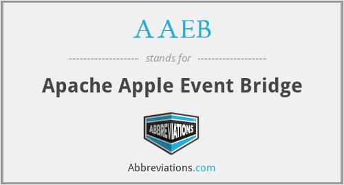AAEB - Apache Apple Event Bridge