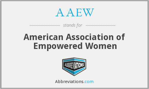 What does AAEW stand for?