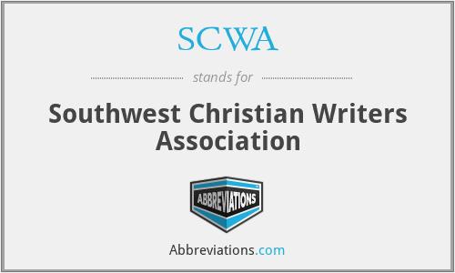 SCWA - Southwest Christian Writers Association