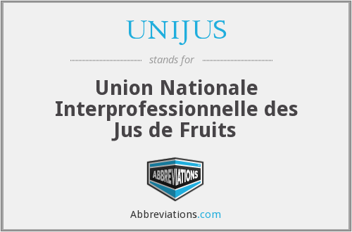 What does UNIJUS stand for?