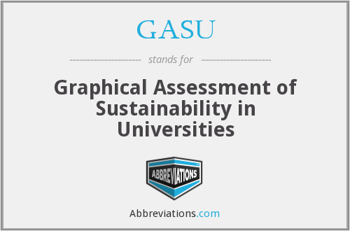 What does GASU stand for?