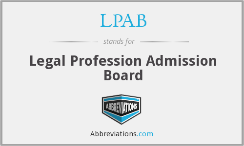 What does LPAB stand for?