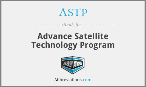ASTP - Advance Satellite Technology Program