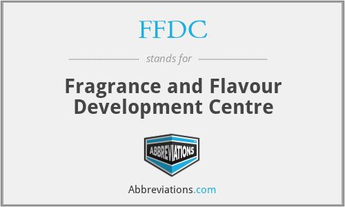 FFDC - Fragrance and Flavour Development Centre