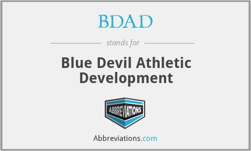 BDAD - Blue Devil Athletic Development