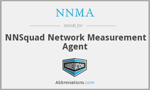 What does NNMA stand for?