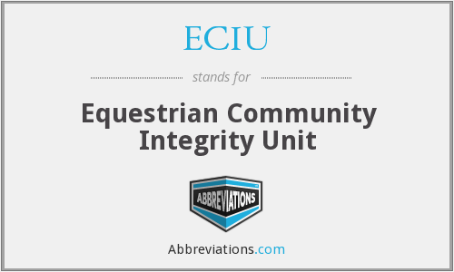 What does ECIU stand for?
