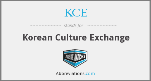 KCE - Korean Culture Exchange