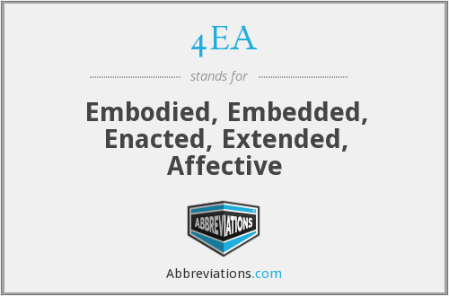 What does 4EA stand for?