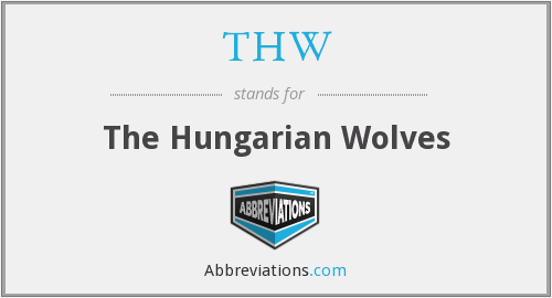 THW - The Hungarian Wolves