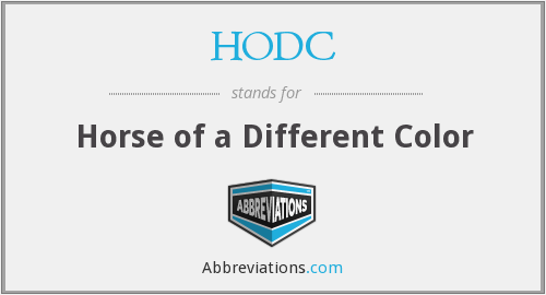 What does HODC stand for?