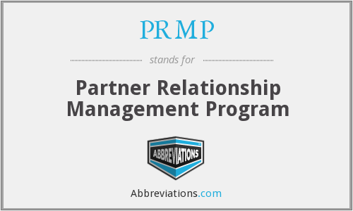 PRMP - Partner Relationship Management Program
