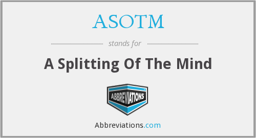 What does ASOTM stand for?