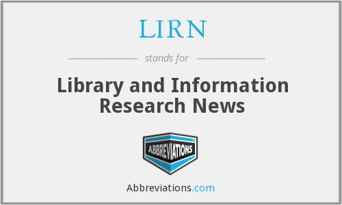 What does LIRN stand for?