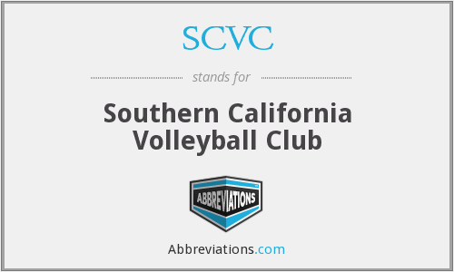 What does SCVC stand for?