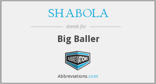 What does SHABOLA stand for?