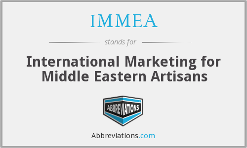 What does IMMEA stand for?