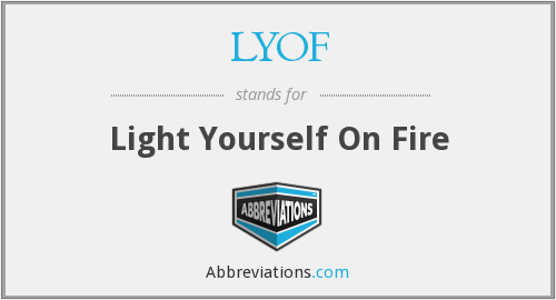 What does LYOF stand for?