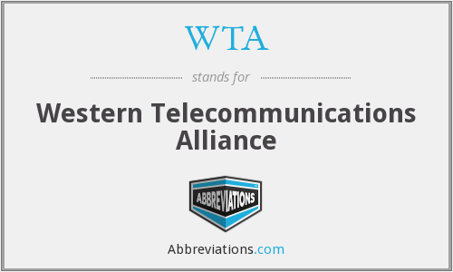 WTA - Western Telecommunications Alliance