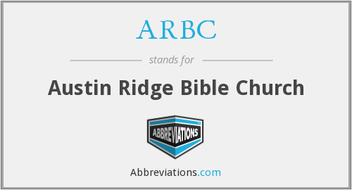 ARBC - Austin Ridge Bible Church