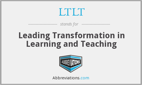 What does LTLT stand for?