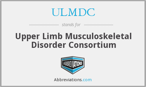 What does ULMDC stand for?