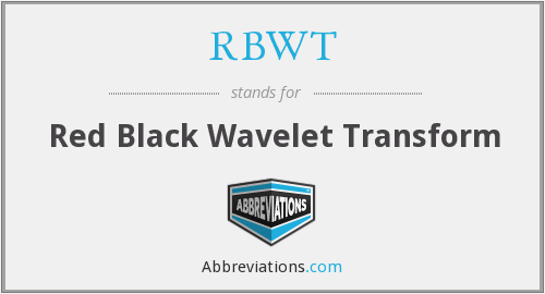 What does RBWT stand for?