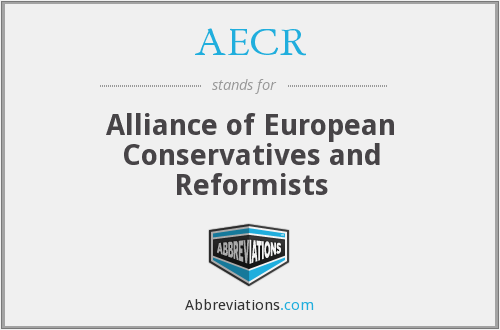 What does AECR stand for?