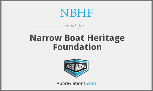 NBHF - Narrow Boat Heritage Foundation