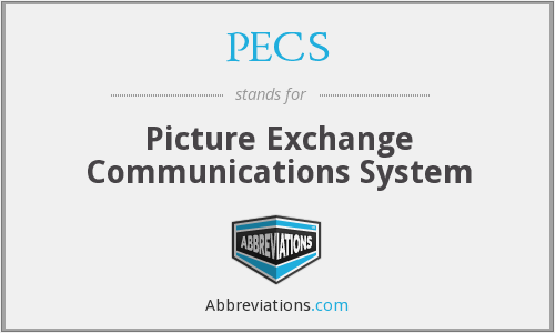 PECS - Picture Exchange Communications System