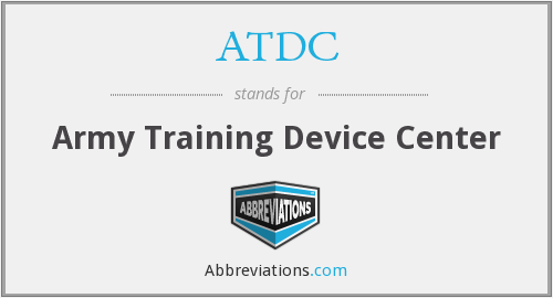 What does ATDC stand for?