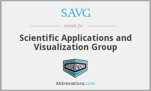 What does SAVG stand for?