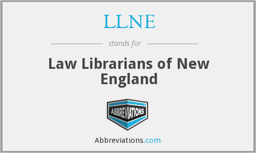 What does LLNE stand for?