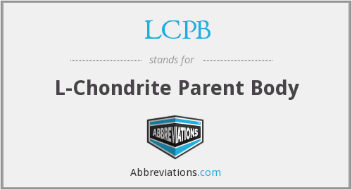 What does LCPB stand for?