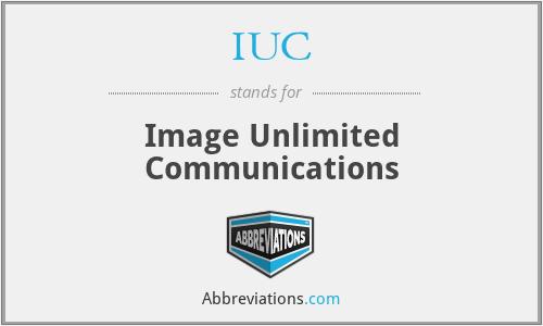 IUC - Image Unlimited Communications