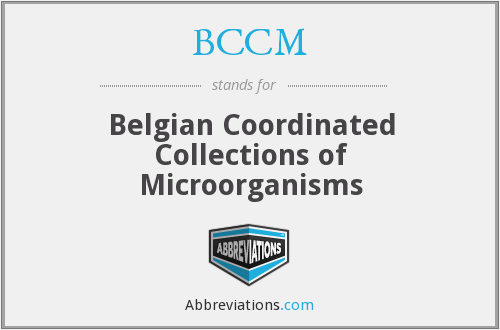 BCCM - Belgian Coordinated Collections of Microorganisms