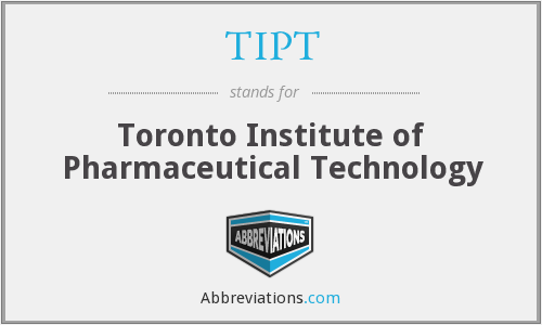 What does TIPT stand for?