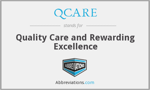 What does QCARE stand for?