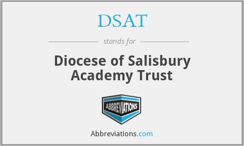 DSAT - Diocese of Salisbury Academy Trust
