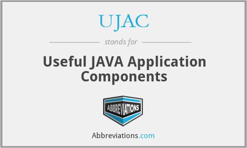 UJAC - Useful JAVA Application Components