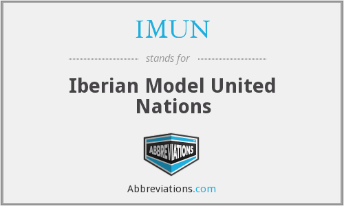 What does IMUN stand for?