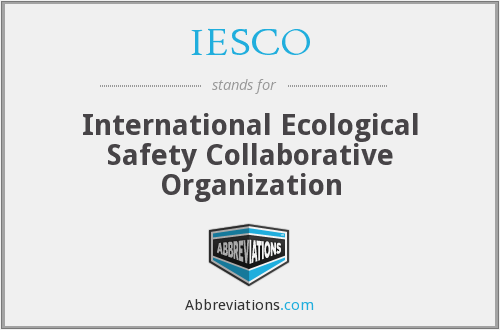 What does IESCO stand for?