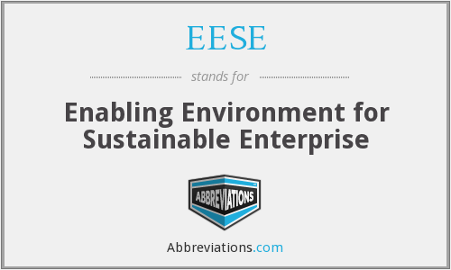 EESE - Enabling Environment for Sustainable Enterprise
