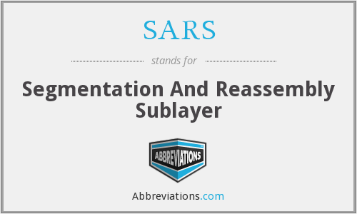 SARS - Segmentation And Reassembly Sublayer