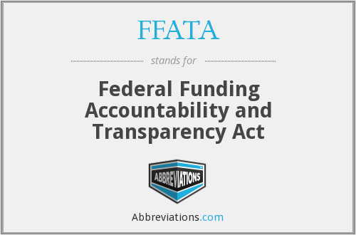 What does FFATA stand for?
